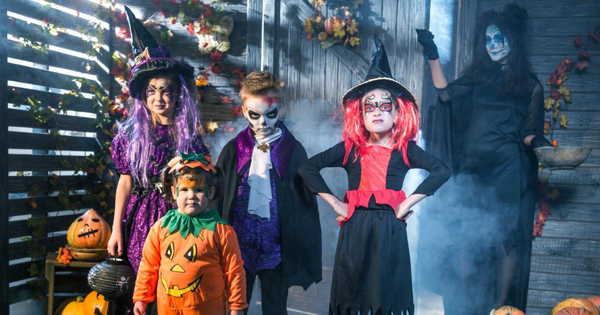 Halloween-Kostüme für Kinder - Bilder - Familie.de
