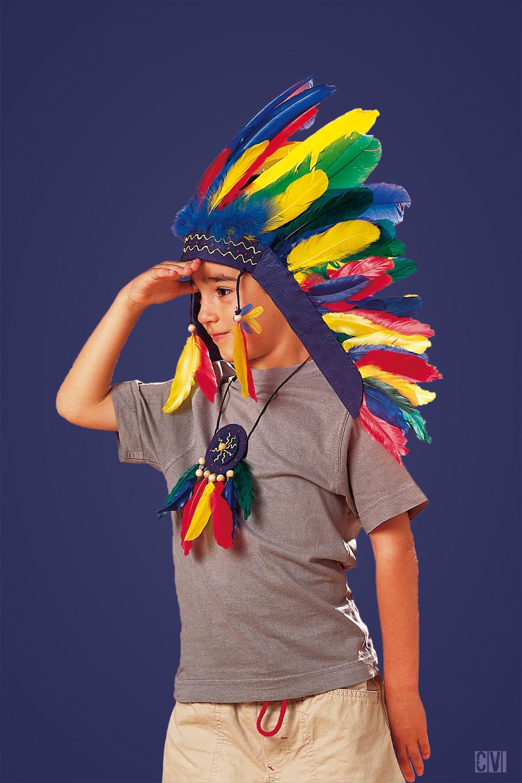 Indianerschmuck Basteln Furs Indianerkostum Familie De