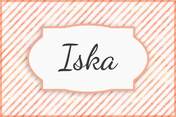 Seltener Mädchenname Iska