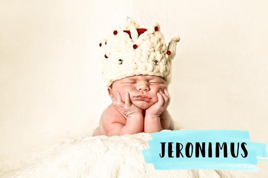 Mittelalterliche Namen: Jeronimus