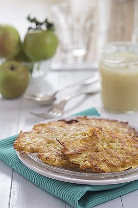Rezept: Kartoffel-Apfel-Puffer