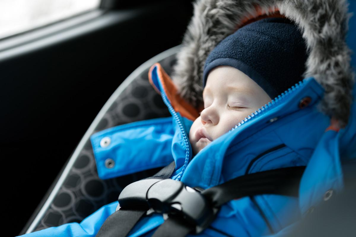 Keine Winterjacke im Auto