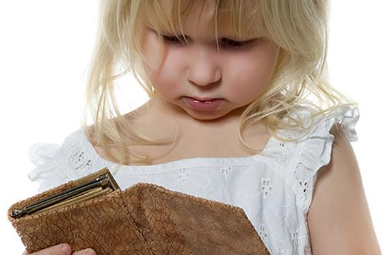 Kinder auf Geldklau ansprechen?