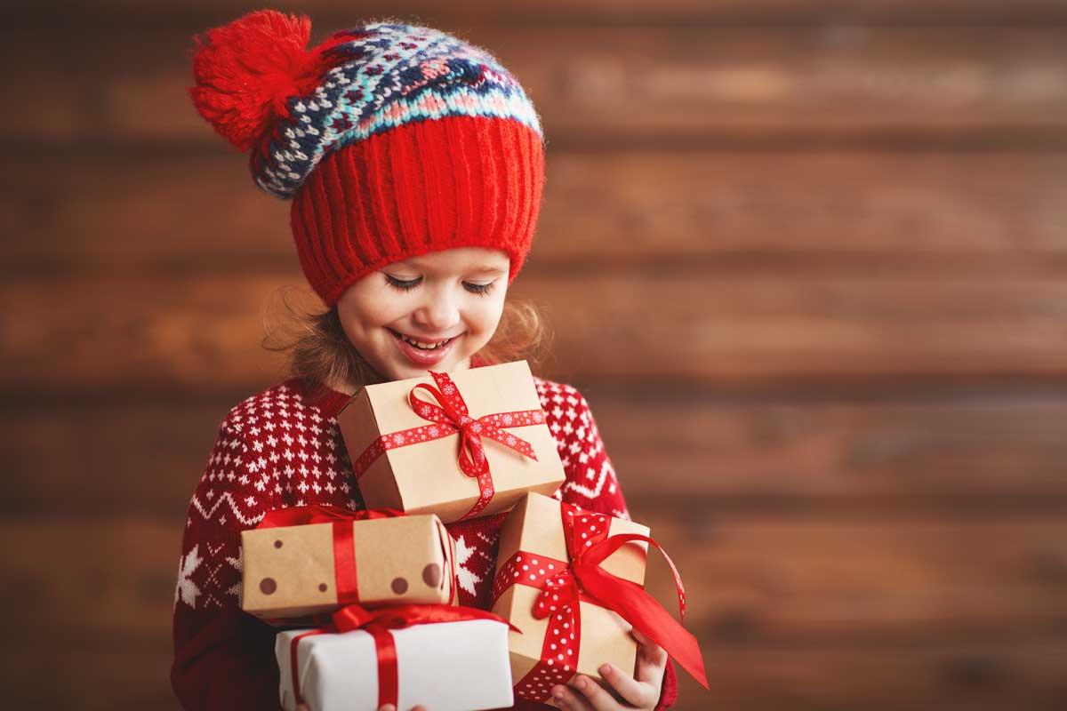 Kind Geschenk