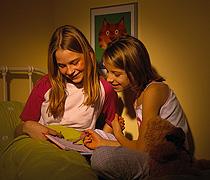 Übernachten und Heimweh bei Kindern
