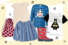 Kinderkleidung für den Frühling 2017