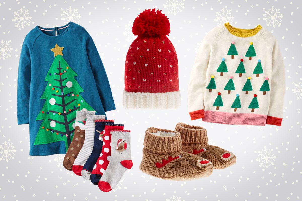 Kindermode für den Winter: Weihnachten