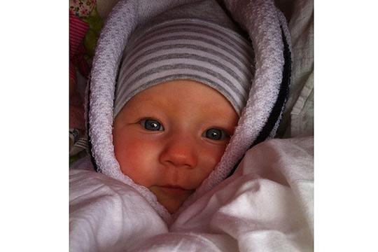Babyfoto-Wettbewerb - 4. Platz im Januar: Klara