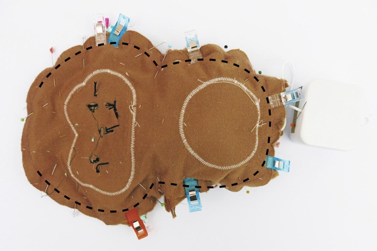 Äffchen-Spieluhr Körper