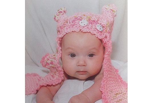 Babyfoto-Wettbewerb - 3. Platz im Januar: Leni