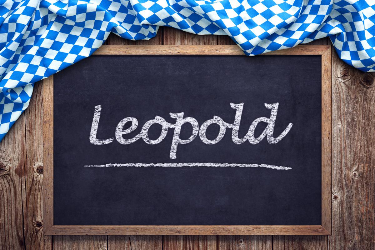 Bayerische Vornamen: Leopold