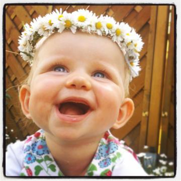 Babyfoto-Wettbewerb: 1. Platz im Juni 2014: Lieselotte
