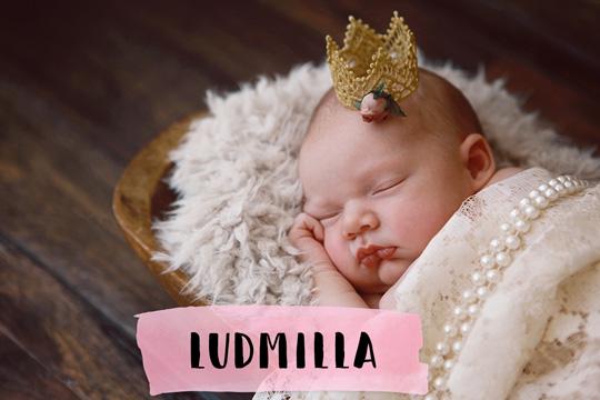 Mittelalterliche Namen: Ludmilla