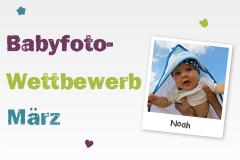 Babyfoto-Wettbewerb März