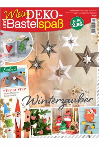 Cover: Mein Deko und Bastelspaß