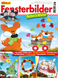 Cover: Meine Bastelwelt - Fensterbilder Herbst & Winter