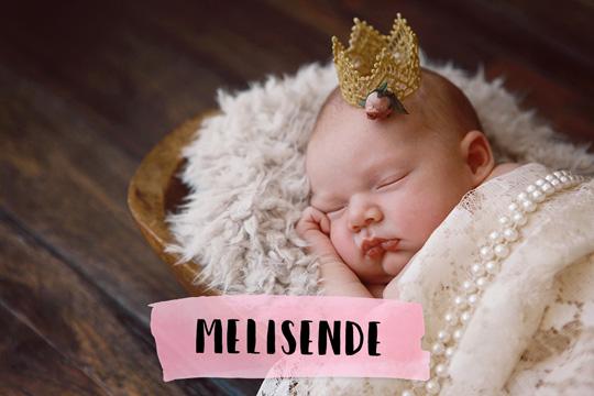 Mittelalterliche Namen: Melisende
