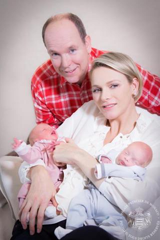Star-Babys: Monacos königliche Zwillinge