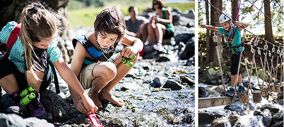Montafoner Sommer mit Kindern