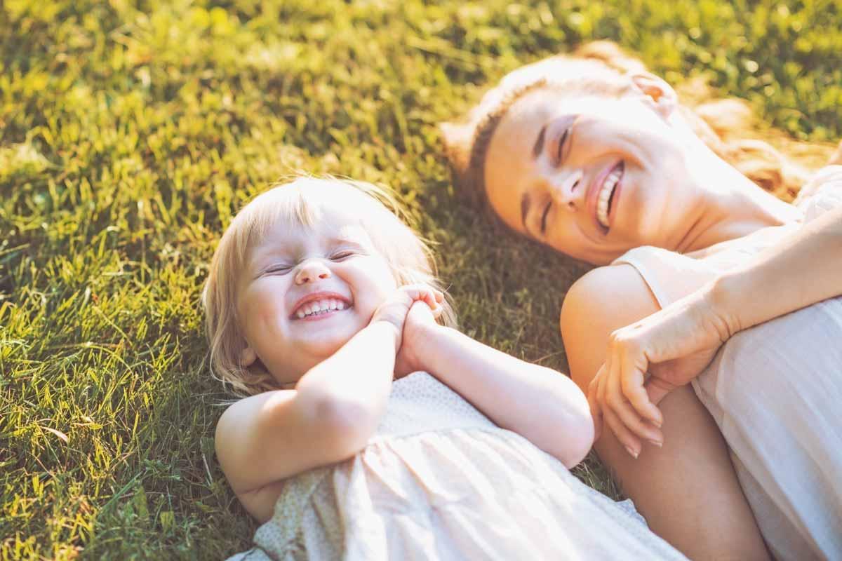 Kindern von alleinerziehenden Müttern geht es gut