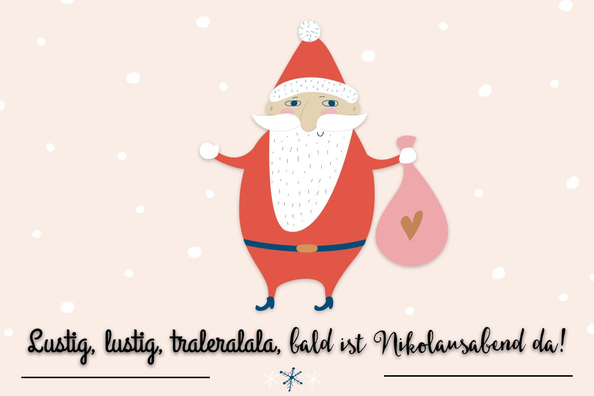 Lustige Weihnachtsgedichte Für Kindergartenkinder.Nikolauslieder Zum Mitsingen Familie De