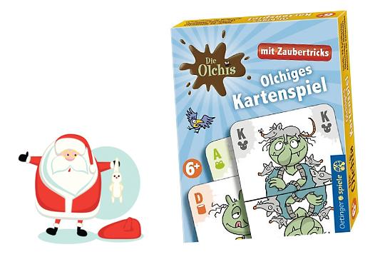 Nikolausgeschenke: Olchiges Kartenspiel
