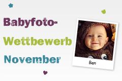 Babyfoto-Wettbewerb November 2014