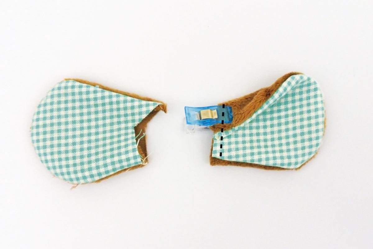 Äffchen-Spieluhr Ohren komplett