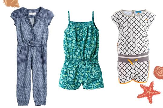 Kindermode Sommer: Jumpsuits