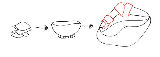 Pappmache-Hai: Schritt 4