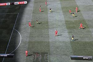 """""""Fifa 12"""" im Spiel"""