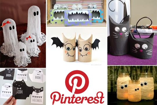 Halloween-Basteltipps: Unsere Pinterest-Lieblinge