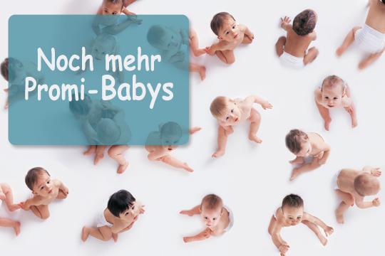 Promi-Babys: Diese Promi Babys kamen 2013 und 2012  zur Welt