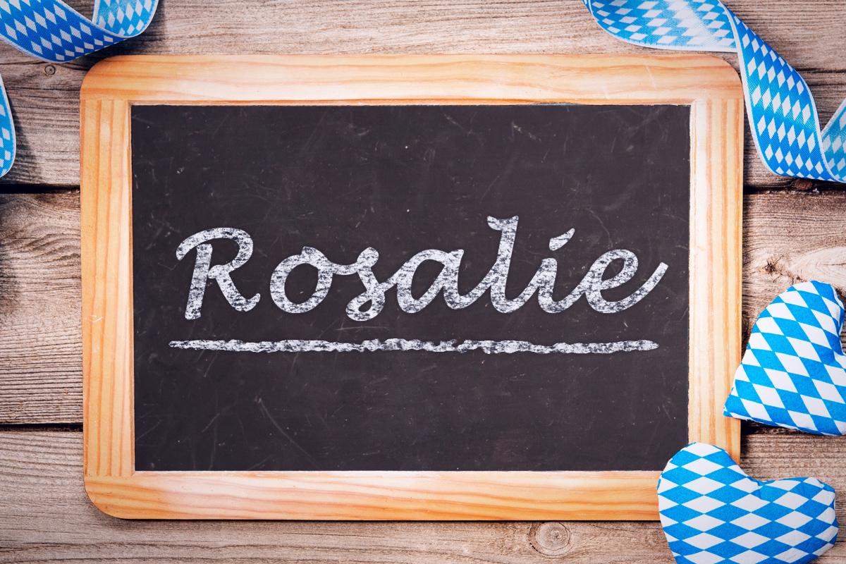 Bayerische Vornamen: Rosalie