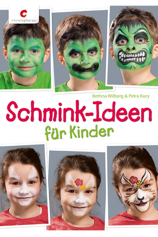 Cover: Schmink-Ideen für Kinder