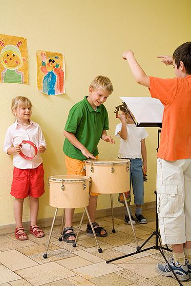 Eine AG an der Grundschule: Kinder machen Musik