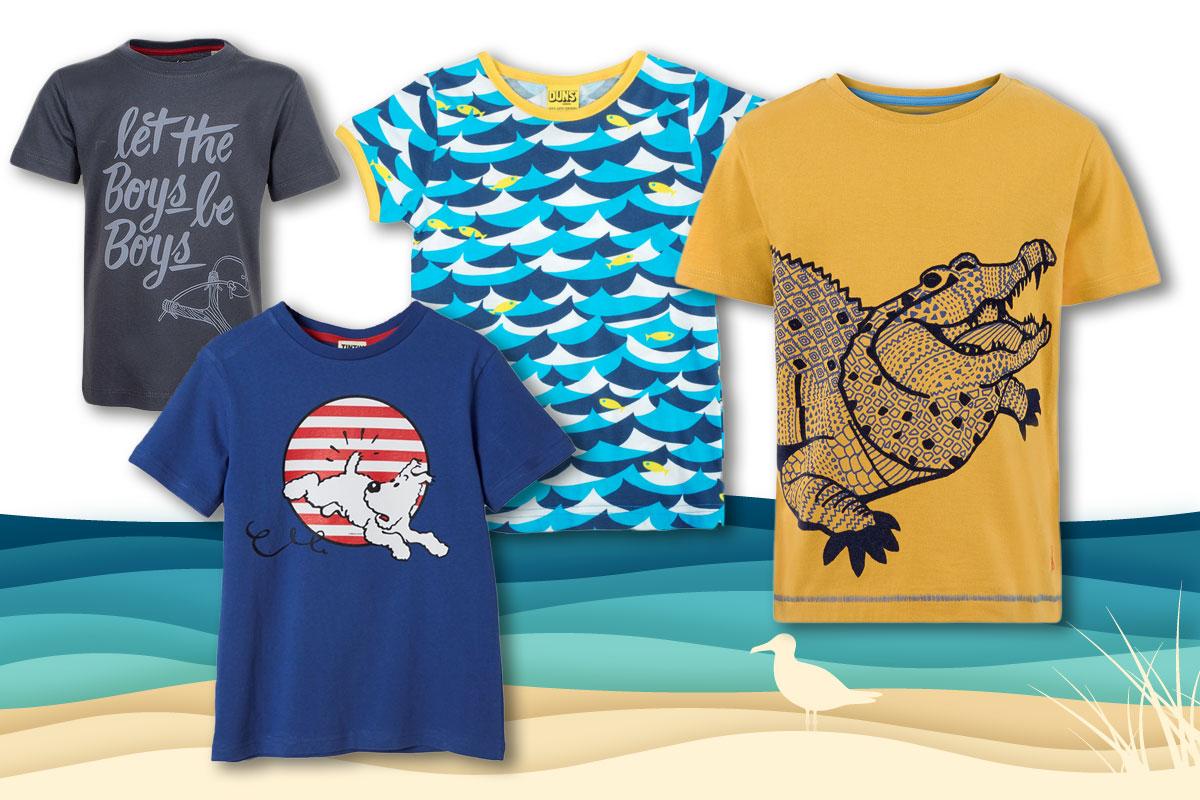 online store eabd1 d34cd Kindermode Sommer 2017: Coole Shirts - Bilder - Familie.de