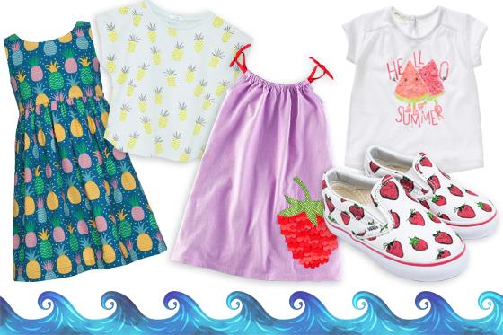 Kindermode für den Sommer: Fruchtige Designs