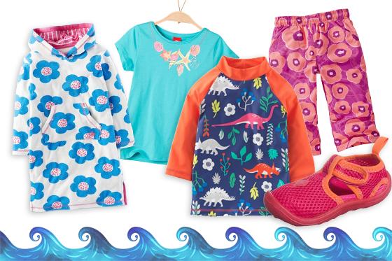 Kindermode für den Sommer: Strandmode