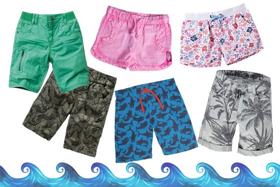 Kindermode für den Sommer: Shorts