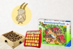 Spielzeug für Steinbock-Kinder