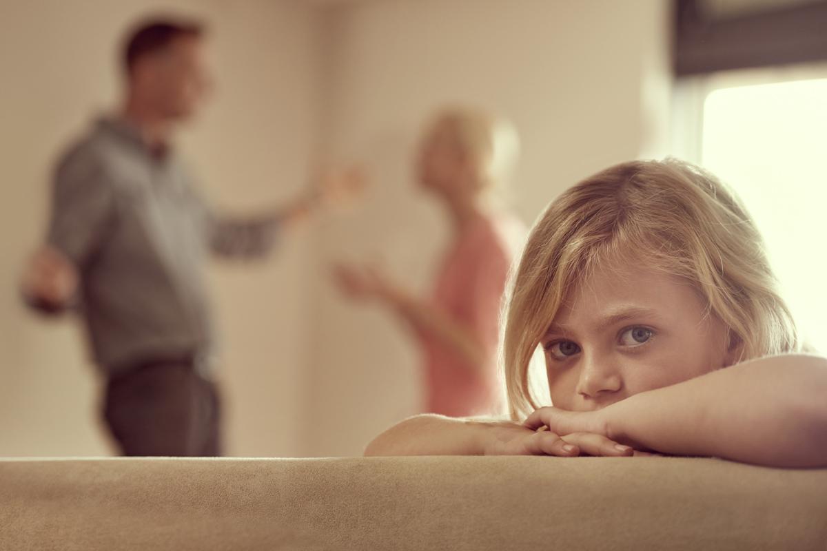 Eltern streiten sich
