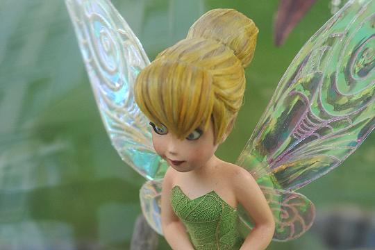 Madame Tussauds: Nahaufnahme von Tinkerbells Haaren