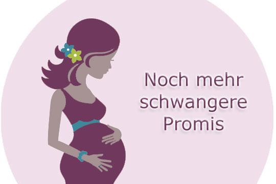 Schwangere Promis