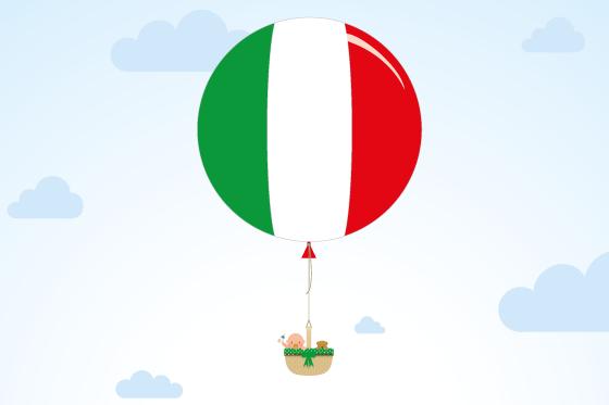 Italienische Vornamen