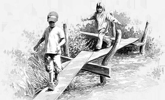 Baunanleitung: Wackelsteg
