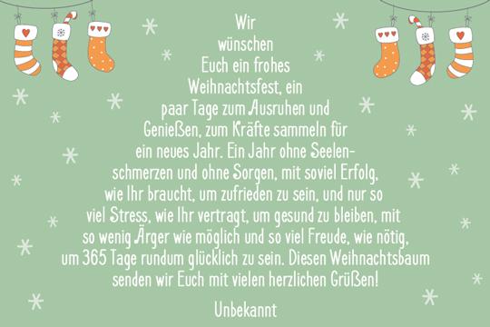 Gruß-Weihnachtsbaum - Bilder - Familie.de