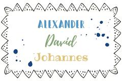 Zeitlose Jungsnamen: Klassisch schöne Vornamen
