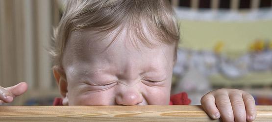 Kleinkinder reagieren auf die Zeitumstellung