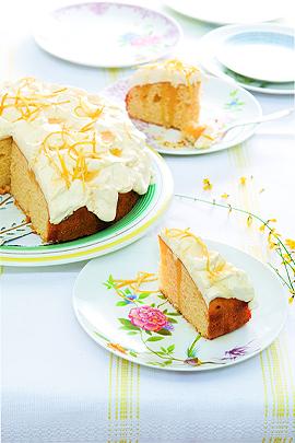 Rezeot: Zitronen-Mascarpone-Kuchen